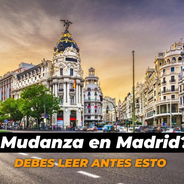Mudanzas en Madrid: particulares y chalets