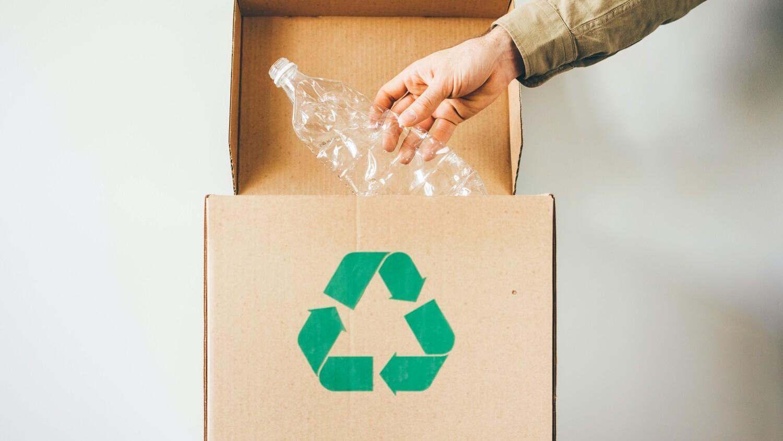 caja de mudanza reciclable